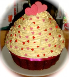 Oxford Giant Cupcake