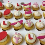 Hen Party Mini Cupcakes