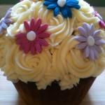 Flower Giant Cupcake