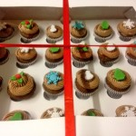 Christmas Mini Cupcake Gift Box
