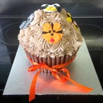 Animal-Themed Giant Cupcake