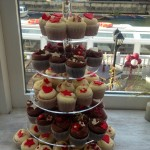 Wedding Celebration Cupcake Tower